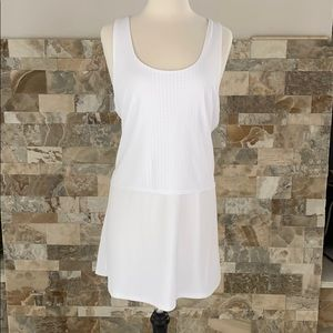 NWT Nike reversible white multi use dress